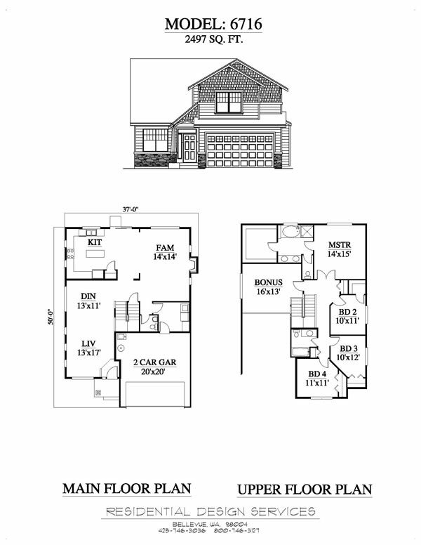 House plan design 2 storey home design for Multi family condo plans