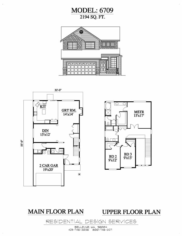 Residential houses plans house design plans for Residential blueprints